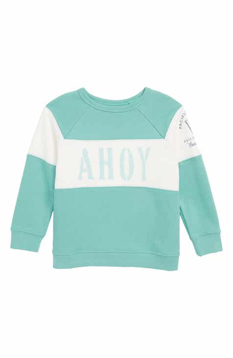 Peek Aren't You Curious Ahoy Crewneck Pullover (Little Boys & Big Boys)