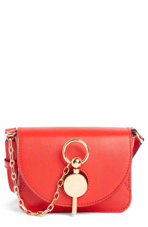 J.W. Anderson Nano Lock Leather Convertible Crossbody Bag 500391cb3a47d