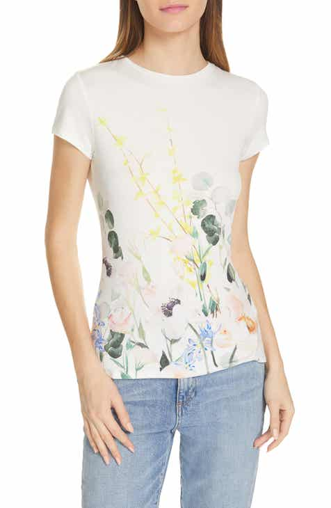 8625b704b Ted Baker London Bobiiee Elegance Fitted Tee