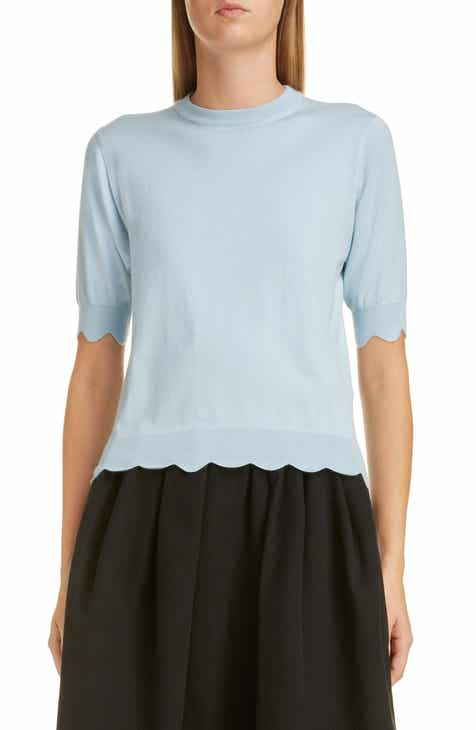 MARC JACOBS Scalloped Sweater by MARC JACOBS