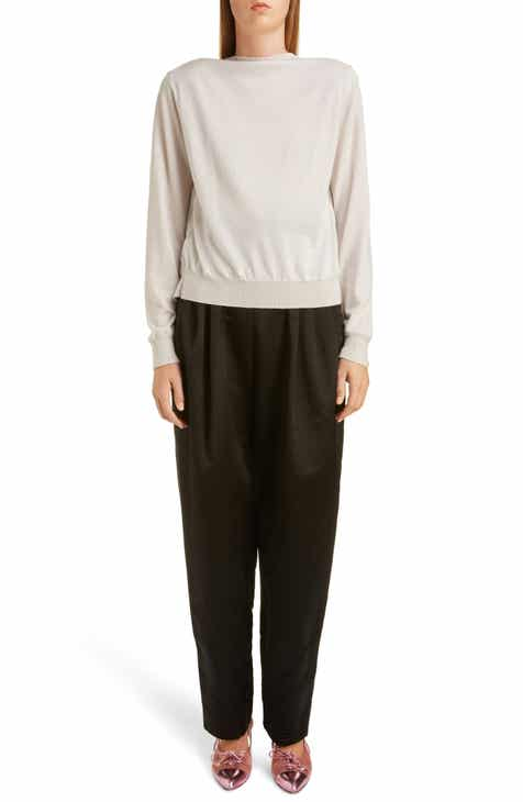 Akris Trapezoid Jacquard Silk Sweater by AKRIS