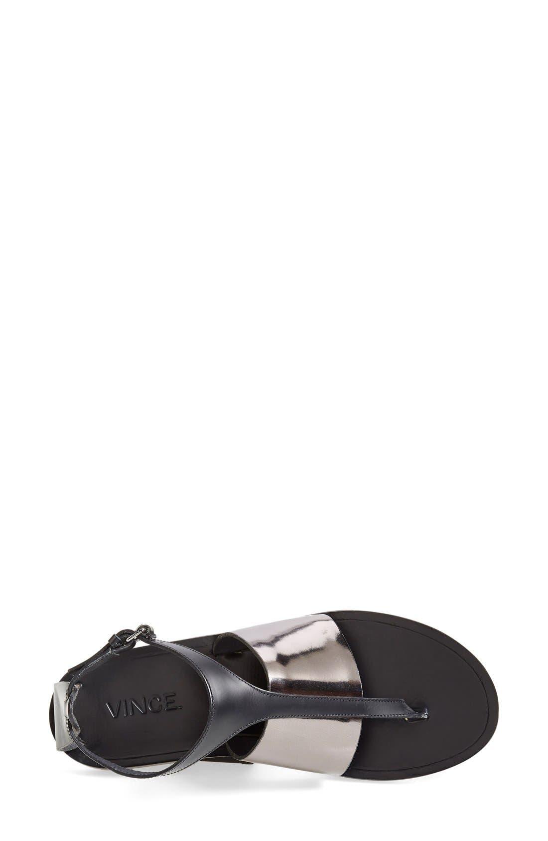 Alternate Image 2  - Vince 'Thea' Ankle Strap Thong Sandal (Women)