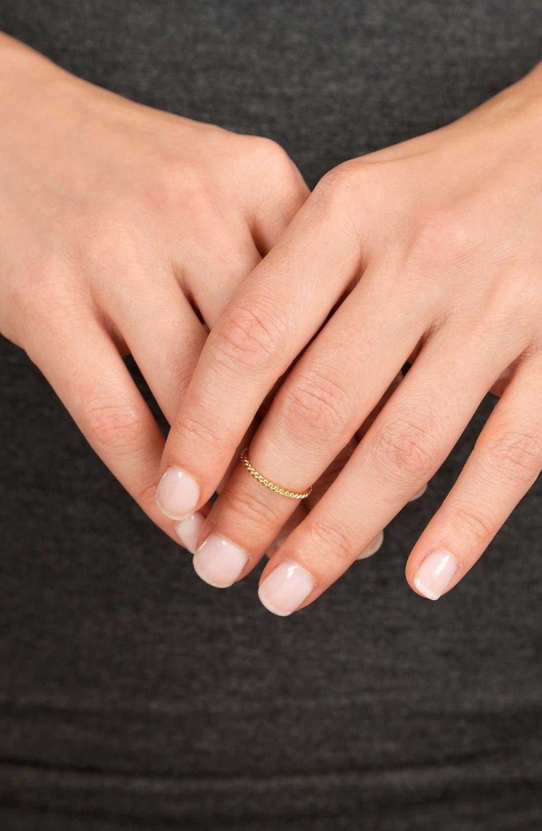 'Marina' Midi Ring,                             Alternate thumbnail 2, color,                             Gold