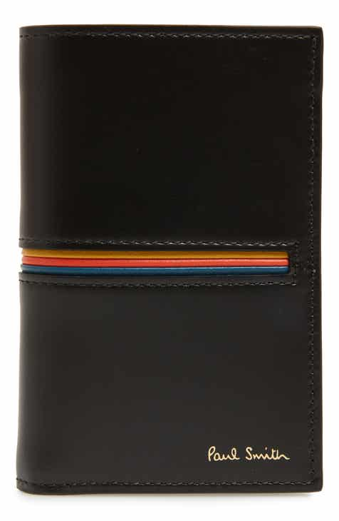 ce011946da008 Paul Smith Flip Leather Card Case