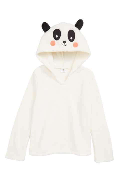 e5ff10da1b Tucker + Tate Animal Plush Fleece Pajama Hoodie (Little Girls   Big Girls)