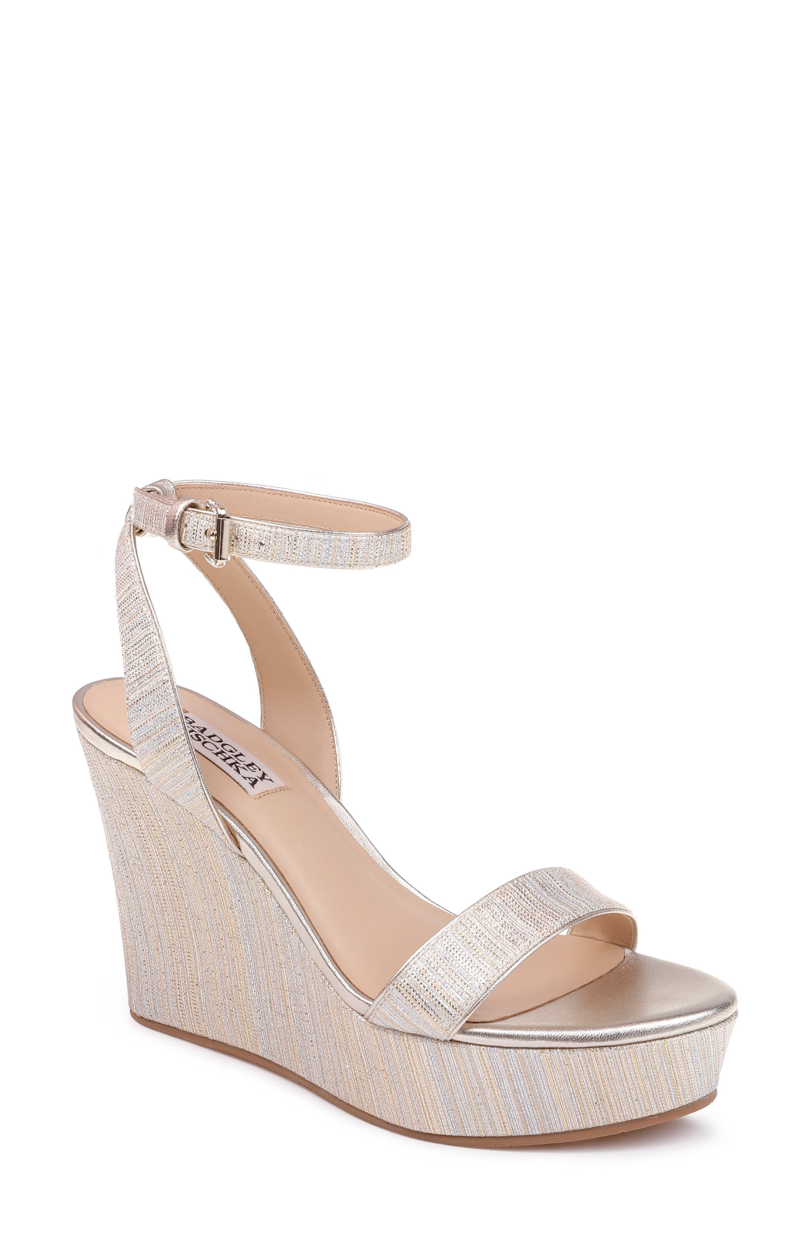 6ebfb389197 Women s Badgley Mischka Collection Wedge Sandals