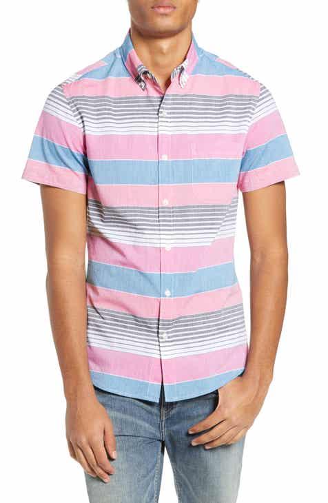 64149a25d6fb Bonobos Riviera Slim Fit Stripe Sport Shirt