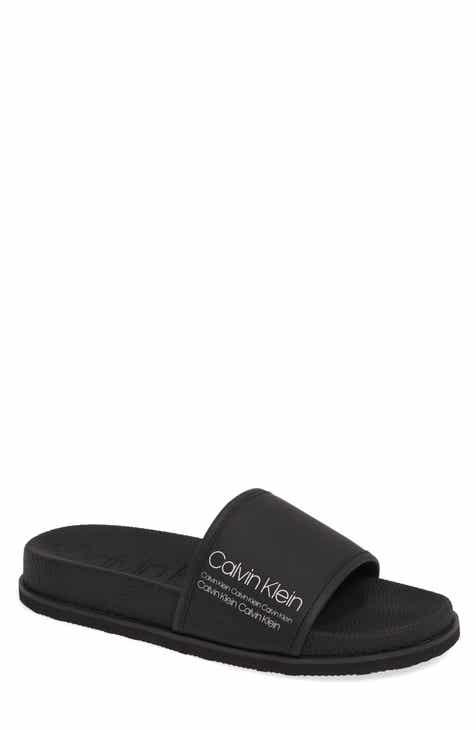 3594bb402e87 Calvin Klein Mackee Slide Sandal (Men)
