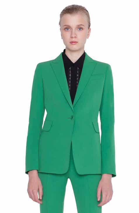 Akris punto Stretch Wool Gabardine Blazer by AKRIS PUNTO