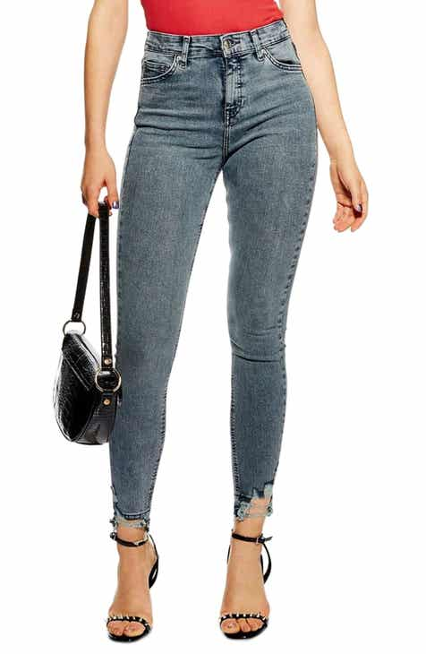 71ef500a Women's Grey Wash High-Waisted Jeans | Nordstrom