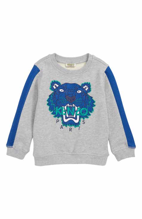 c729c31b0705 KENZO Tiger Appliqué Sweatshirt (Little Boys & Big Boys)