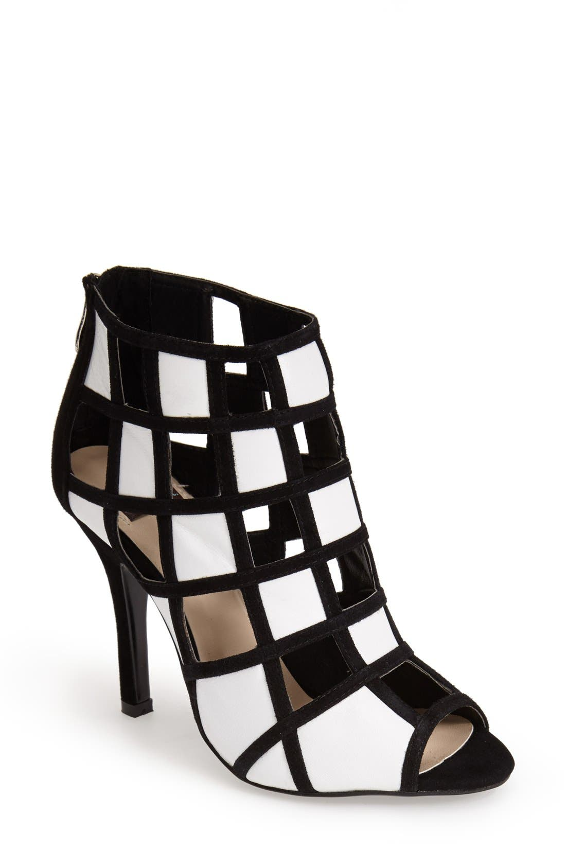 Alternate Image 1 Selected - N.Y.L.A. 'Romeo' Cutout Sandal (Women)