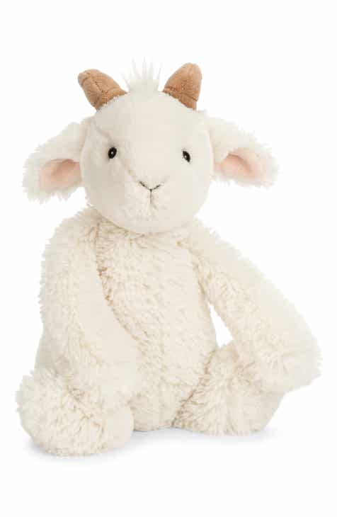 Jellycat Medium Bashful Goat Stuffed Animal 56576be5fd