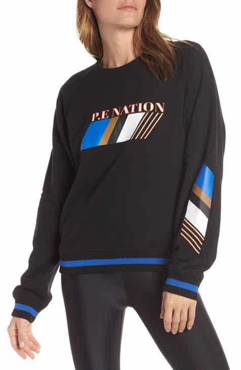 478114d288 P.E Nation Elite Run Sweatshirt