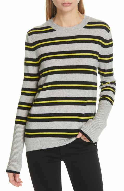Le Ligne Tripe Stripe Cashmere Sweater by LA LIGNE