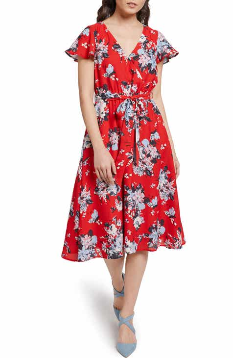 d9045f7d1b5 ModCloth Fits of Bliss Faux Wrap Dress (Regular   Plus Size)