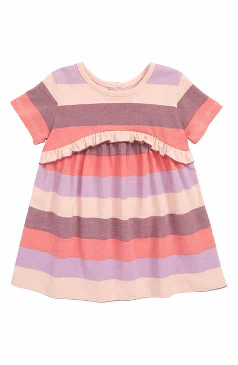 5923eea66b9 Peek Khloe Stripe Ruffle Dress (Baby)