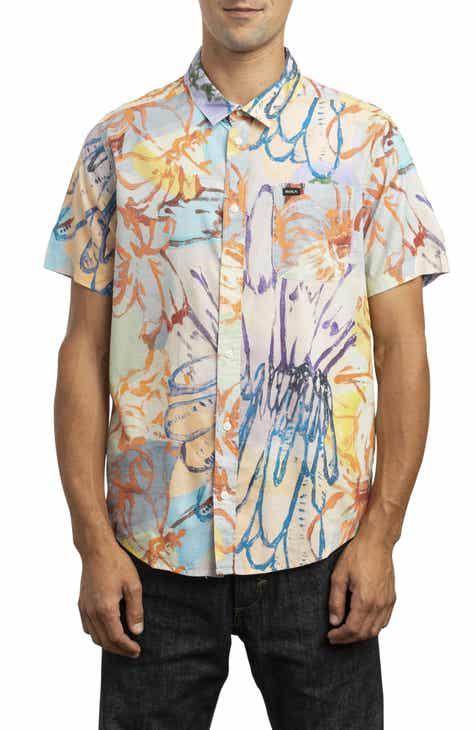 d2c36d6a2ee RVCA Vaughn Woven Shirt