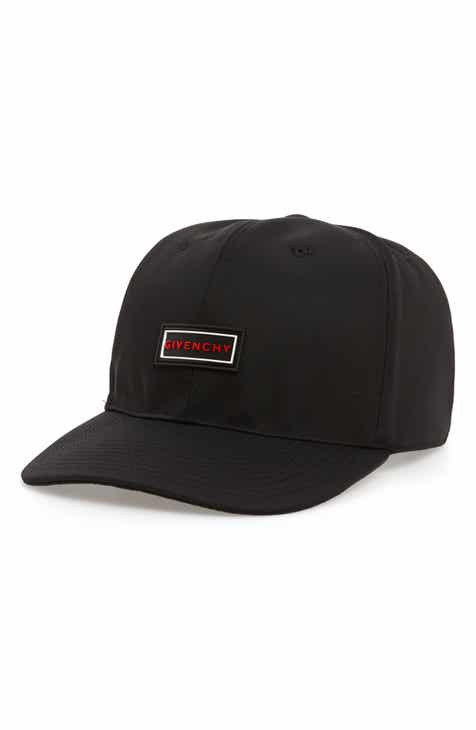 Givenchy Curved Peak Rubber Logo Cap db6f35c5736