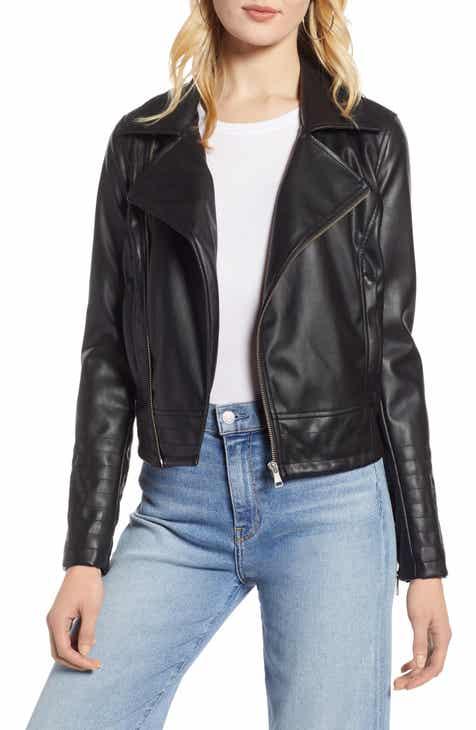 725e17c827d Women s Leather   Faux Leather Coats   Jackets