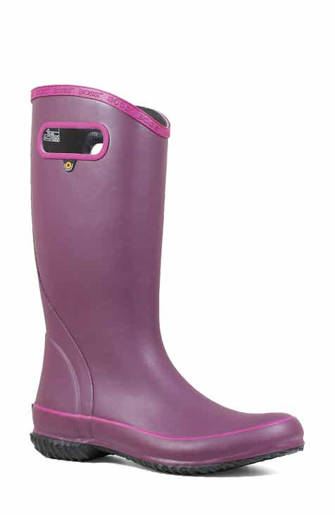 63af41e74016 Bogs Classic Tall Waterproof Rain Boot (Women)