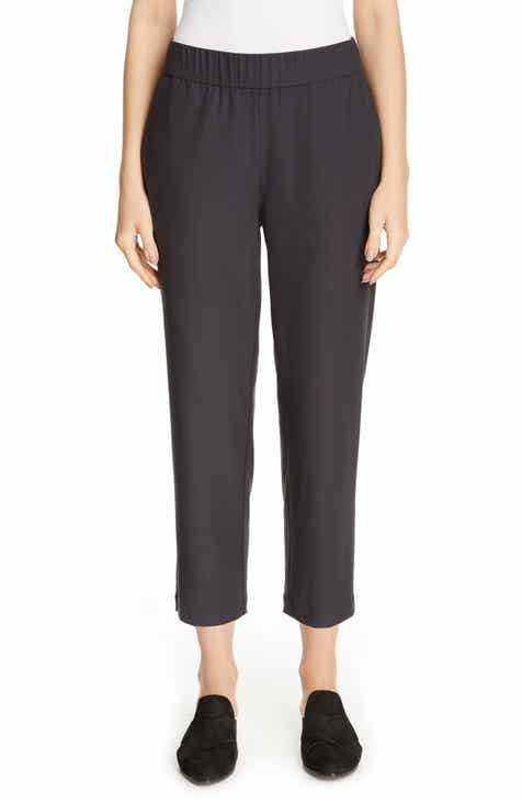 b3b4ff3baed Eileen Fisher Tapered Ankle Pants