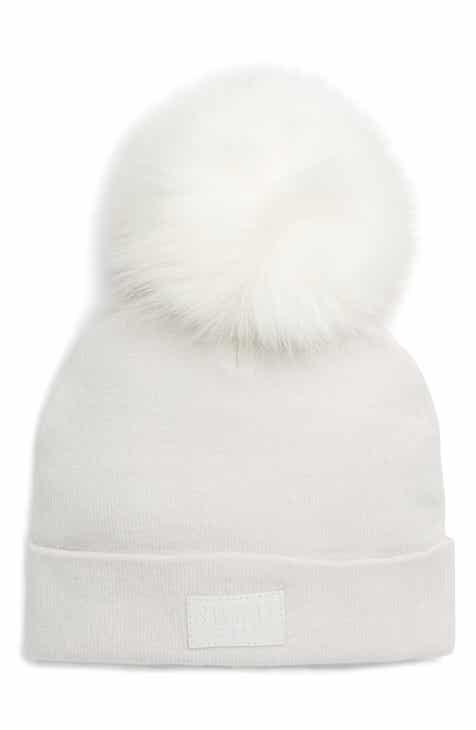 5145b696666 SWEAT ACTIVE Faux Fur Pom Beanie