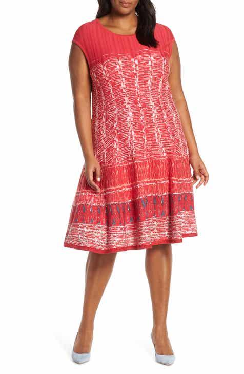 0fea2fba29 NIC+ZOE Garden Party Dress (Plus Size)