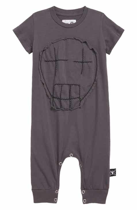 3af4213fed2 Nununu Embroidered Skull Romper (Baby)