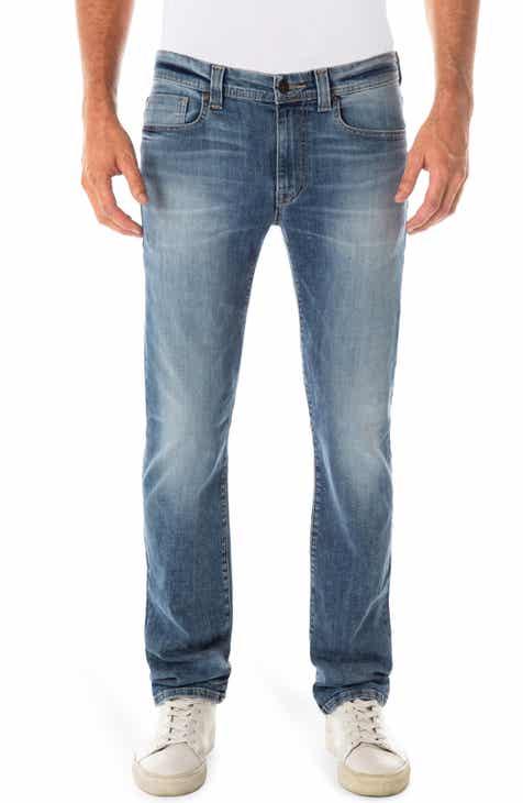 79170a6b145d Fidelity Denim Jimmy Slim Straight Leg Jeans (Riverside Blue)