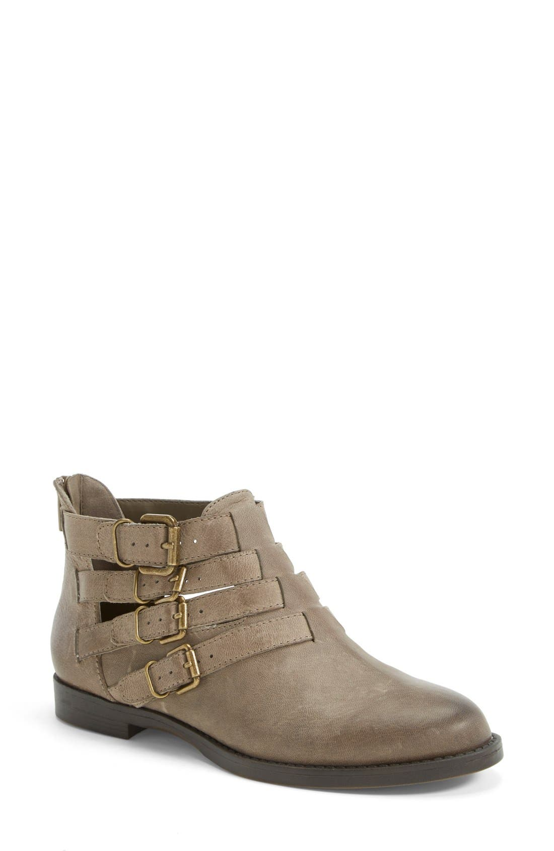 Main Image - Bella Vita 'Ronan' Buckle Leather Bootie (Women) (Online Only)