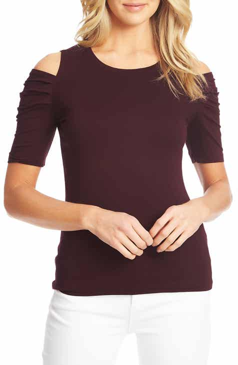 f86f6d5cbc730b Women s Cold Shoulder Tops