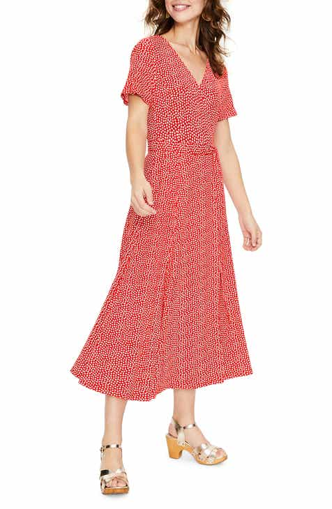756dd6485c7 Boden Cassia Jersey Faux Wrap Dress (Regular   Petite)