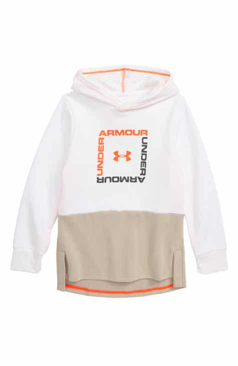 Under Armour Unstoppable Double Knit Logo Hoodie (Big Boys)
