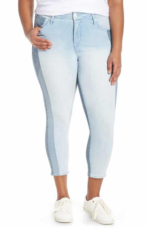 55f5950ae9e40 Seven7 Tower High Waist Skinny Jeans (Innovation) (Plus Size)