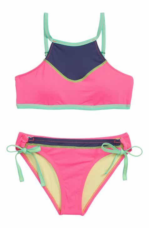 Hobie Stitch Perfect Two-Piece Swimsuit (Big Girls)