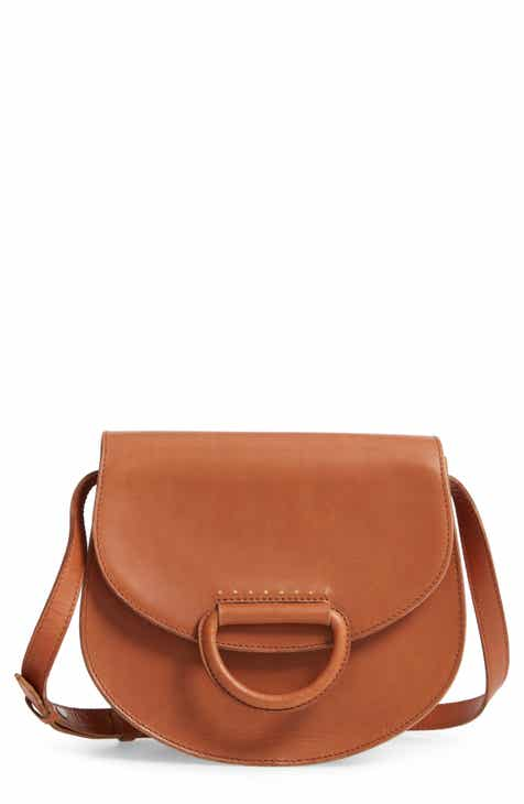 c0f4a63cfa Madewell D-Ring Saddle Bag