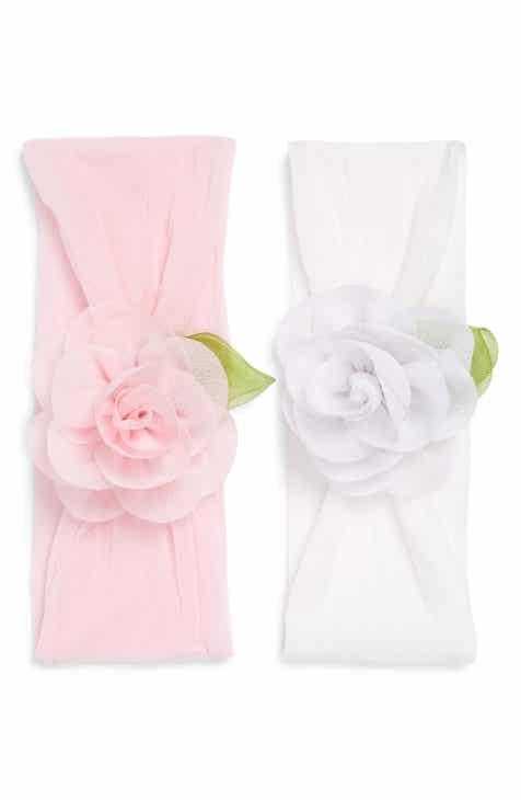 Baby Bling 2-Pack Rosette Head Wraps (Baby)