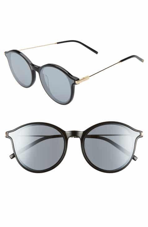 7c2676657c Bonnie Clyde Summit 60mm Flat Front Round Sunglasses