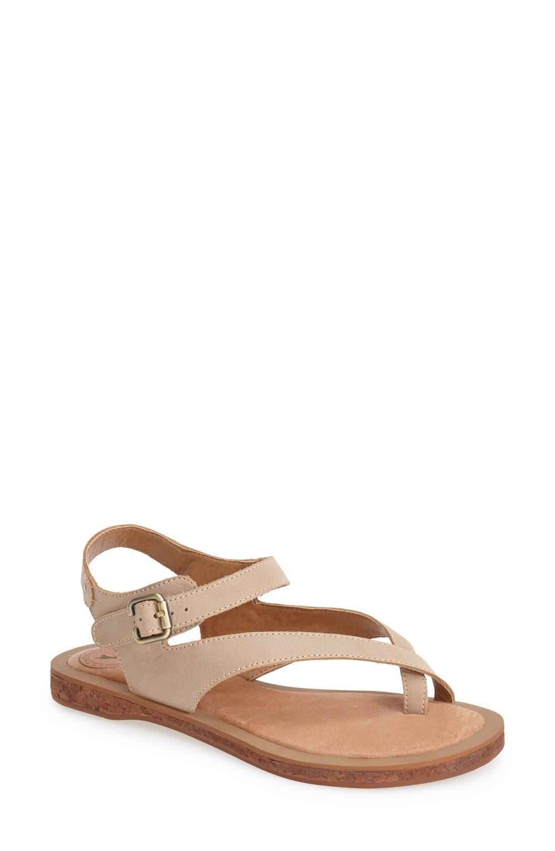 Alternate Image 1 Selected - Gee WaWa 'Montana' Leather Sandal (Women)