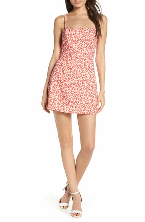 French Connection Baylee Whisper Print Minidress