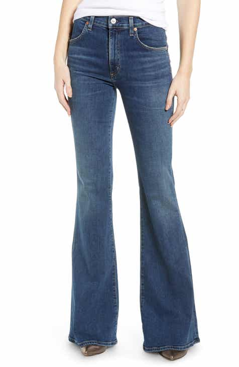 483f53fc Citizens of Humanity Chloe High Waist Flare Jeans (Dedication)