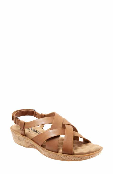 d722489c0d7e8 Softwalk® Bonaire Cross Strap Sandal (Women)