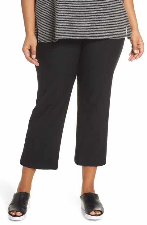 7d28d03a3fe Eileen Fisher Flare Ankle Pants (Plus Size)