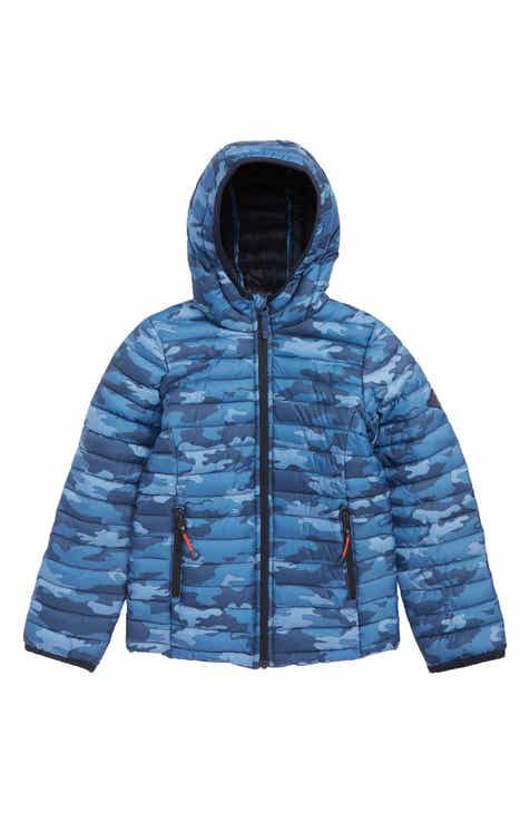 b58af2671e34 Joules Cairn Camo Water Resistant Puffer Jacket (Toddler