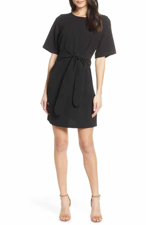 904ded2ee147 Chelsea28 Front Tie Shift Dress (Regular, Petite & Plus Size)