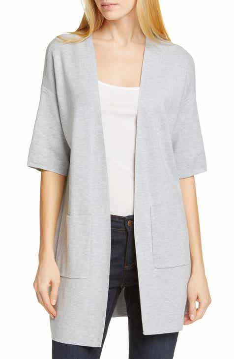 Eileen Fisher Elbow Sleeve Cardigan 067e70151