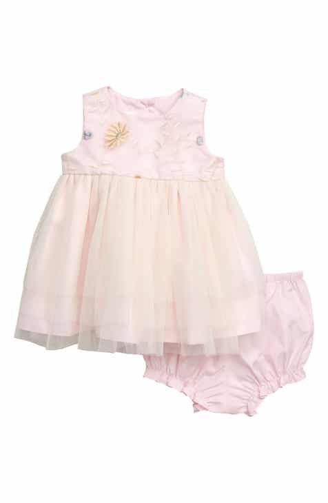 b8407de48ba Frais Embroidered Garden Ballerina Dress (Baby)