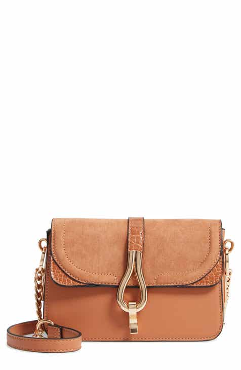 7782d634de Topshop Capricorn Faux Leather Crossbody Handbag