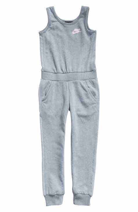b8a2cd191875 Nike French Terry Jumpsuit (Toddler Girls & Little Girls)